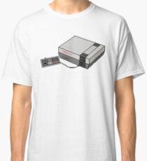 Pixel Art Retro Nintendo Entertainment System NES Classic T-Shirt