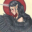 Winged Unicorn Angel by Stephanie Small