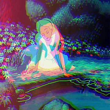 Alice in Wonderland Trippy by bilboswaggins85
