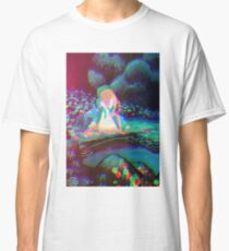 Alice in Wonderland Trippy Classic T-Shirt