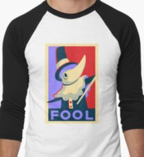 Excalibur FOOL Propaganda Men's Baseball ¾ T-Shirt