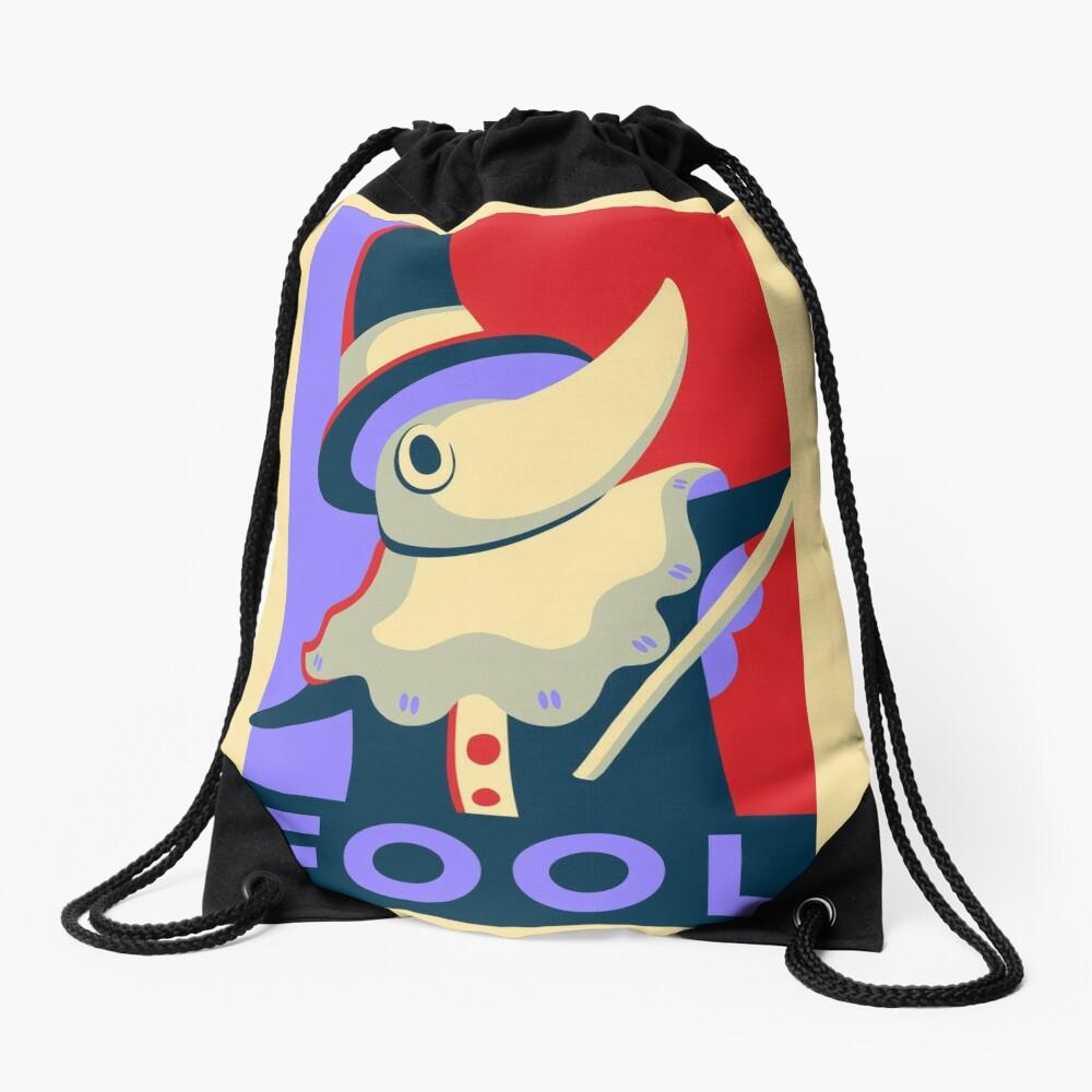 Excalibur FOOL Propaganda Drawstring Bag