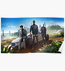 Watch Dogs 2 - Human Conditions Poster