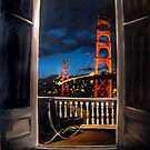 Nicole's View of the Golden Gate by Robert Reeves