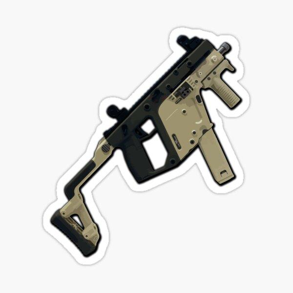 Vektor-Maschinenpistole Sticker