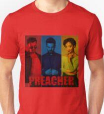 Preacher Red, Blue & Yellow Design T-Shirt