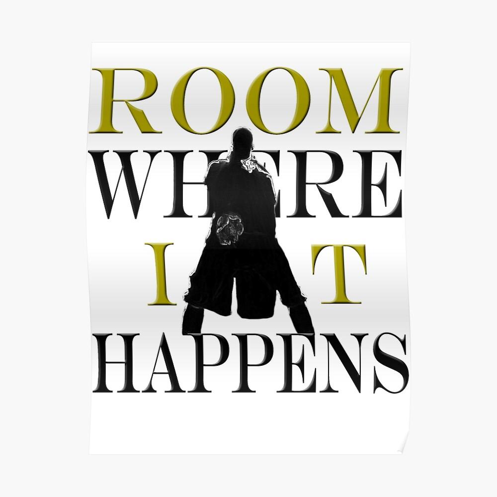 Burr Room Donde sucede Póster