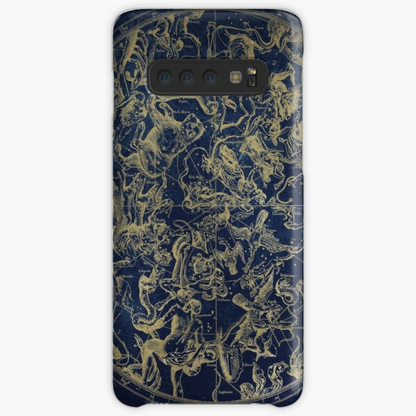 Vintage Constellations & Astrological Signs | Gold Samsung Galaxy Snap Case