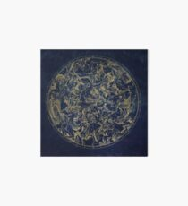 Vintage Constellations & Astrological Signs | Gold Art Board