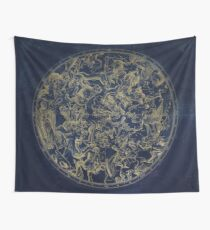 Vintage Constellations & Astrological Signs | Gold Wall Tapestry