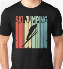 Ski Jumping Vintage Retro Unisex T-Shirt