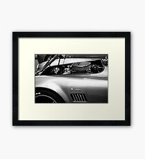 Classic AC Cobra Sports Car Framed Print