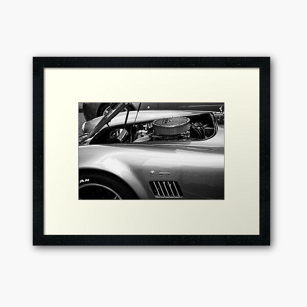 Classic AC Cobra Sports Car Framed Art Print