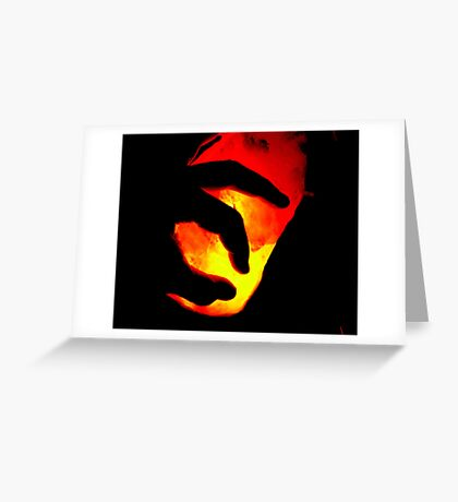 Catch the fire Greeting Card