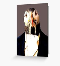 MACAREUX MOINE Greeting Card