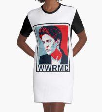 WWRMD? (What would Rachel Maddow Do) Graphic T-Shirt Dress