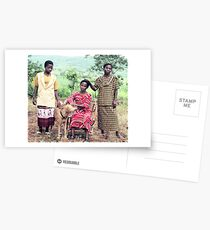 The Kingonsera Women and Simba Postcards