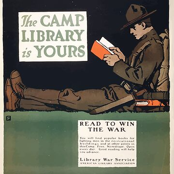 The camp library is yours Read to win the war by wetdryvac
