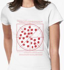 Pizza Shirt Women's Fitted T-Shirt