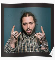 Post Malone Merchandise Poster
