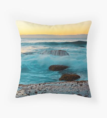 Half Tide Throw Pillow