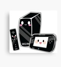 Cute Wii U Canvas Print