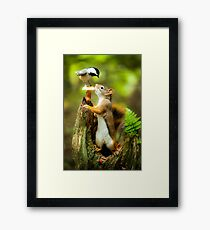 Chipmunk Framed Print