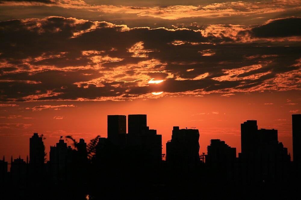 Manhattan sunrise by pmarella