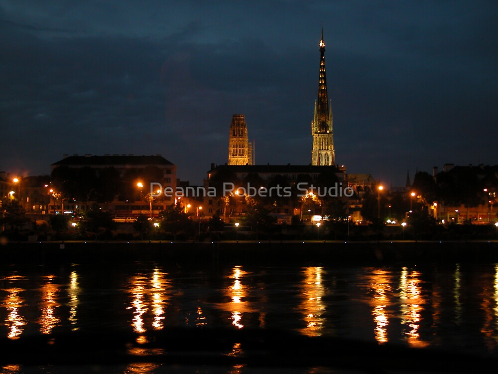 Rouen on Seine - France by Deanna Roberts Think in Pictures