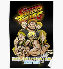 Sweep das Bein: Hill Valley Edition Poster