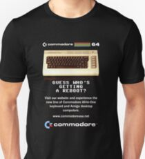 commodore retro computer Unisex T-Shirt