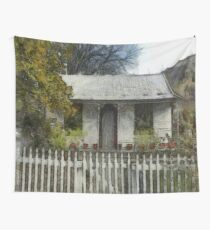 Settlers Cottage, Arrowtown New Zealand Wall Tapestry