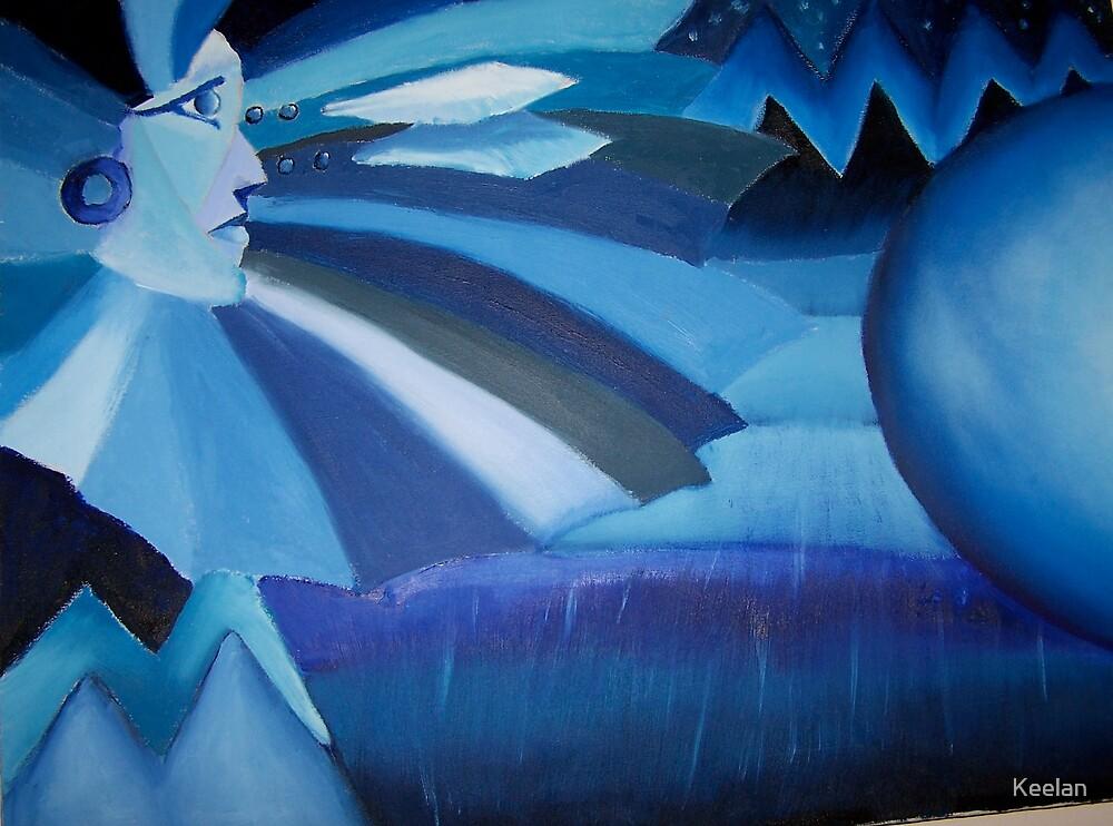 Blue moon by Keelan