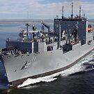 Militär Sealift Command Trockenfracht und Munition Schiff USNS Washington Chambers. von StocktrekImages