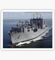 Military Sealift Command dry cargo and ammunition ship USNS Washington Chambers. Sticker
