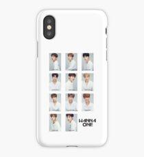 Wanna One (White) iPhone Case/Skin