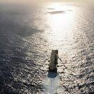 Amphibisches Angriffsschiff USS Boxer läuft im Pazifischen Ozean. von StocktrekImages