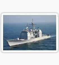 The Ticonderoga-class guided-missile cruiser USS Shiloh. Sticker