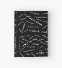☆BTS Hashtags☆ Hardcover Journal
