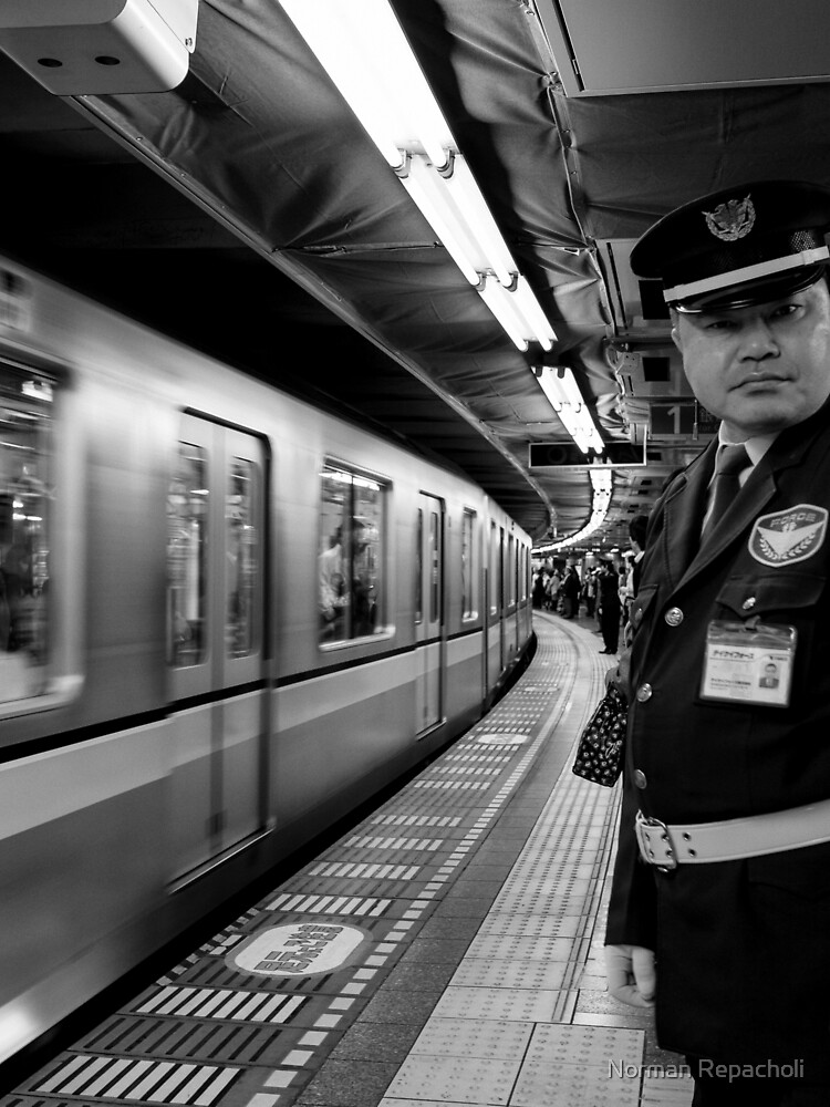 Stand Clear - Tokyo Japan by keystone