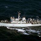 Die Royal Navy Mine Gegenmaßnahme Schiff HMS Quorn. von StocktrekImages