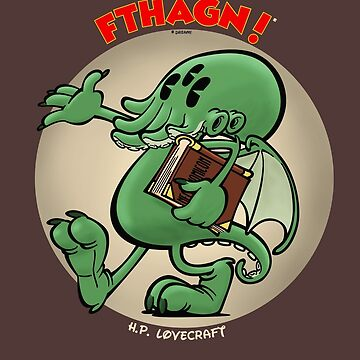 Vintage cartoon Cthulhu - color by Captainsmog