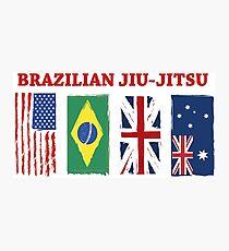 BRAZILIAN JIU-JITSU INTERNATIONL Photographic Print