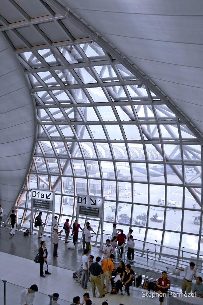 Transit - Suvarnabhumi Airport, Bangkok by Stephen Permezel