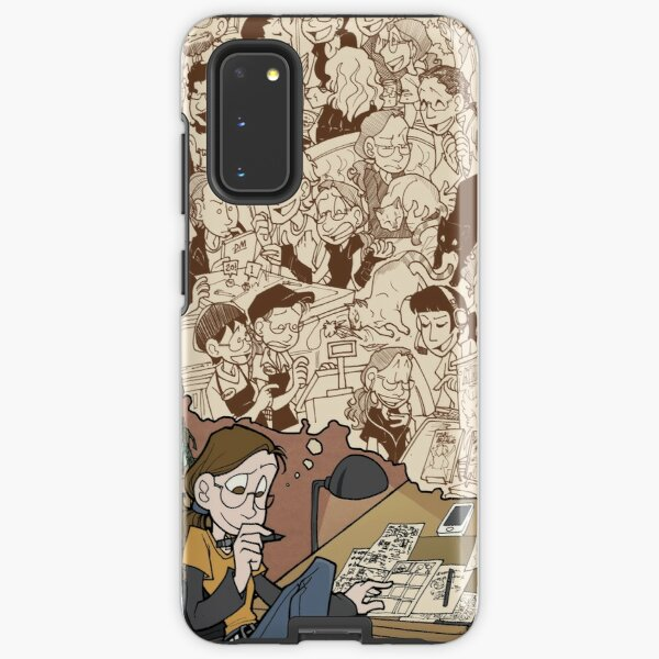 Today Nothing Happened Finale Samsung Galaxy Tough Case
