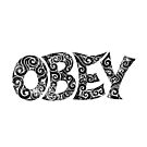 Swirly Obey by . VectorInk