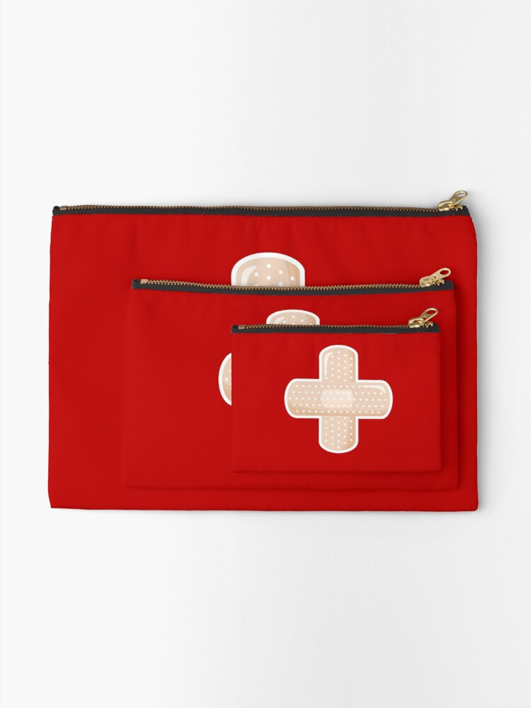Alternate view of First Aid Plaster Zipper Pouch