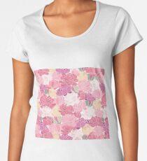 Blushing peonies Women's Premium T-Shirt