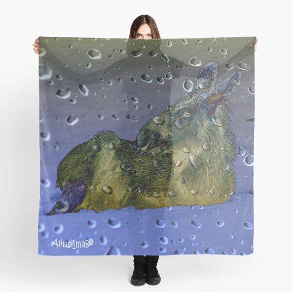 Raindrops - Baby Moose Scarf