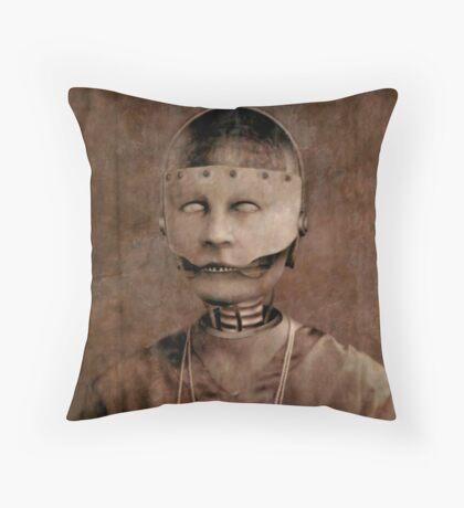 Welcome Home Henrietta Throw Pillow